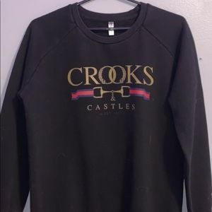 Crooks & Castles crew neck sweater